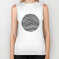 wave Biker Tanks featuring Wave by Tracie Andrews