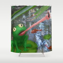 Linga River Shower Curtain