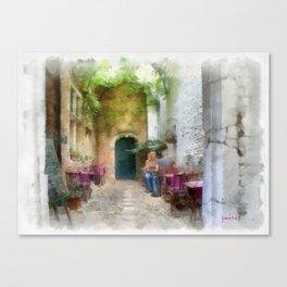 Vlaaiekensgang - Antwerp Canvas Print