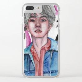 Baekhyun-PARADISE Clear iPhone Case