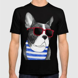 Frenchie Summer Style T-shirt