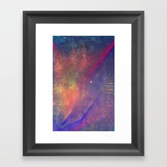 nyyd cyffyy Framed Art Print