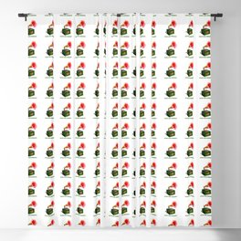ORGANIC INVENTIONS SERIES: Vintage Floral Phonograph Blackout Curtain