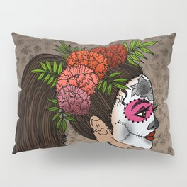 Rosa Maria on the Day of the Dead Pillow Sham
