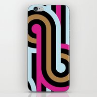 infinity iPhone & iPod Skins featuring Infinity by Michelle Nilson