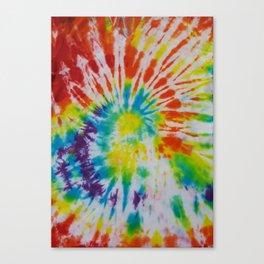 Tye Dye for Mom Canvas Print