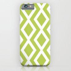 Lime Diamond Slim Case iPhone 6s