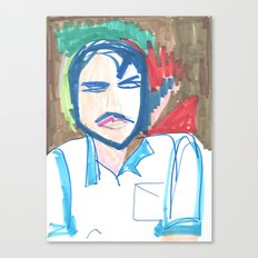Male Man Canvas Print