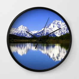 Nice reflection Wall Clock