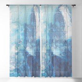 SEAGODDES Sheer Curtain