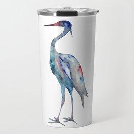 Crane #1 - Ink painting Travel Mug