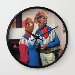 Coca Cocaine Cowboys Wall Clock