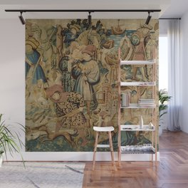 Hunting Flemish Tapestries Wall Mural