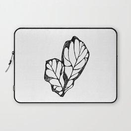 Big Leaf Plant Artwork Laptop Sleeve