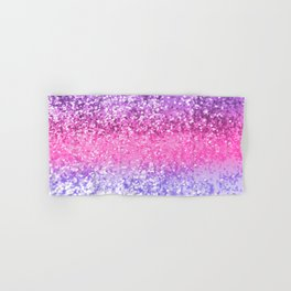 Unicorn Girls Glitter #6 #shiny #decor #art #society6 Hand & Bath Towel