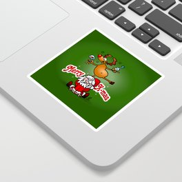 Merry X-mas Sticker