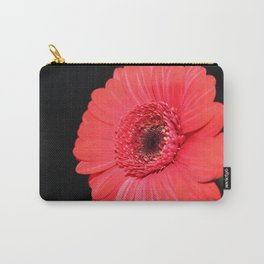 Red Flower Macro Shot Carry-All Pouch