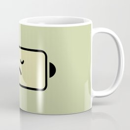 Sad Battery Coffee Mug