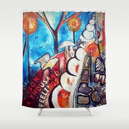 O.P.A.T.F Shower Curtain