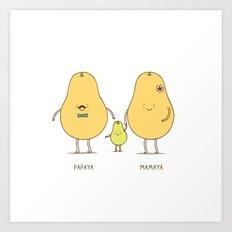 happy family! Art Print