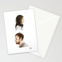 elementary: better half [2] Stationery Cards