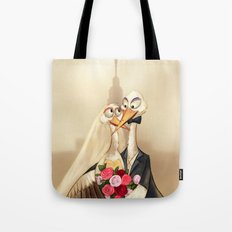 crane wedding Tote Bag