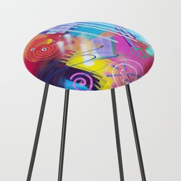Vivid Thoughts 2 Counter Stool