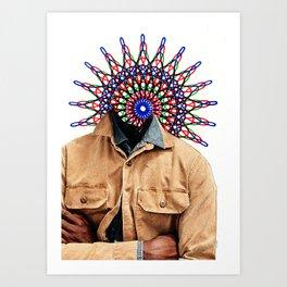 Spiritograph 1 Art Print
