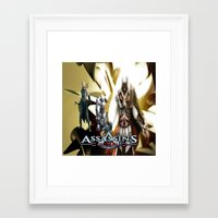 assassins creed Framed Art Prints featuring Assassins Creed   by store2u