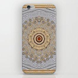 Cartoon wood iPhone Skin