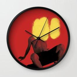 skate or spray Wall Clock