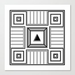 Metaphysical gap Canvas Print
