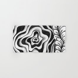 Doodled Rose & Vine Hand & Bath Towel