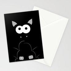 Minimal Bat Stationery Cards