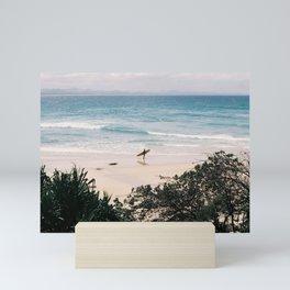 Lone Surfer Mini Art Print