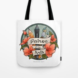 Patron of the Arts Tote Bag