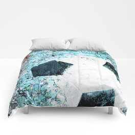 Soccer art Comforters