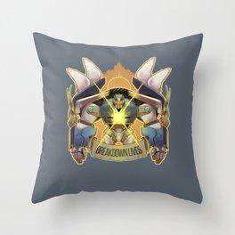 BREAKDOWN LIVES Throw Pillow