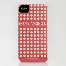 Enemy Among Us I Slim Case iPhone (4, 4s)