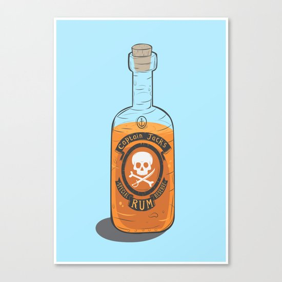 Captain Jack's Special Rum Reserve Canvas Print