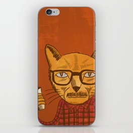 Working with designers is like herding cats iPhone Skin