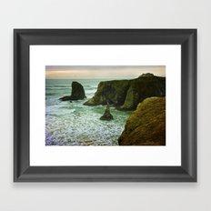 Pacific Northwest Coast Framed Art Print