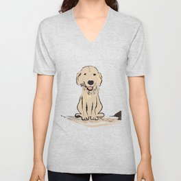 Cute Doggy Unisex V-Neck