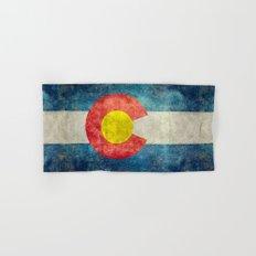Coloradan State Flag Hand & Bath Towel