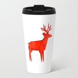 Origami Deer Travel Mug