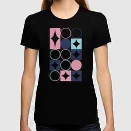 Mid Century Pink Sea Salt T-shirt