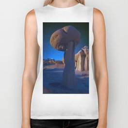 Just A Rock In The Valley Of Dreams Biker Tank
