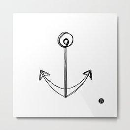 Anchors Aweigh Metal Print