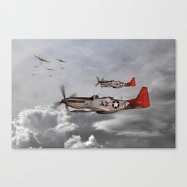 P51 Mustang - Tuskegee Airmen Canvas Print