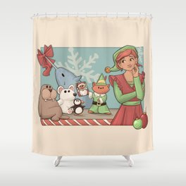 I Know Him Shower Curtain